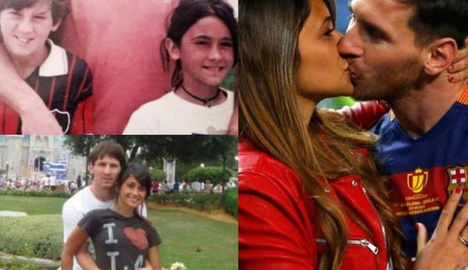 Conozco a Antonella desde los 7 años, ella es todo para mí: Messi sobre su esposa