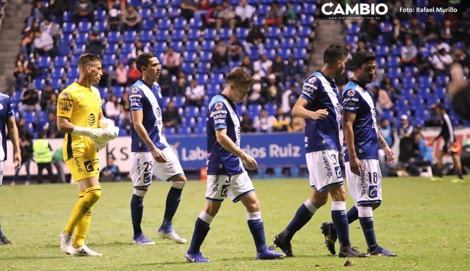 Apertura 2019 fue el segundo peor torneo del Club Puebla en 5 años