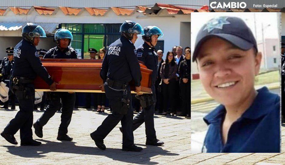 SCC homenajea en Rancho Colorado a Yasmín Ortiz, la policía que murió atropellada por un borracho
