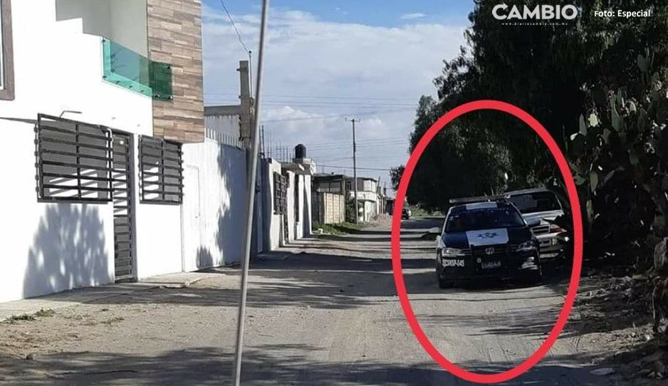 ¡Qué chistosito! Edil de Tepeyahualco usa la Policía Municipal para fines personales