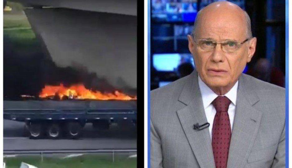 Otro más que muere en helicopterazo, ahora fue un periodista argentino (VIDEOS)