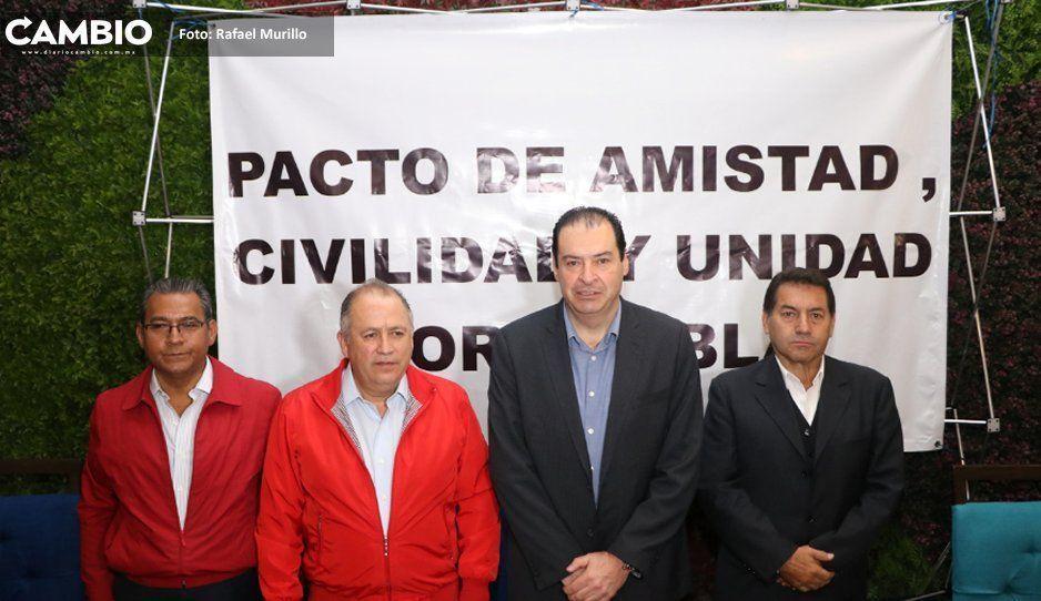 Aspirantes del PRI presentan su frente de unidad… sin Doger