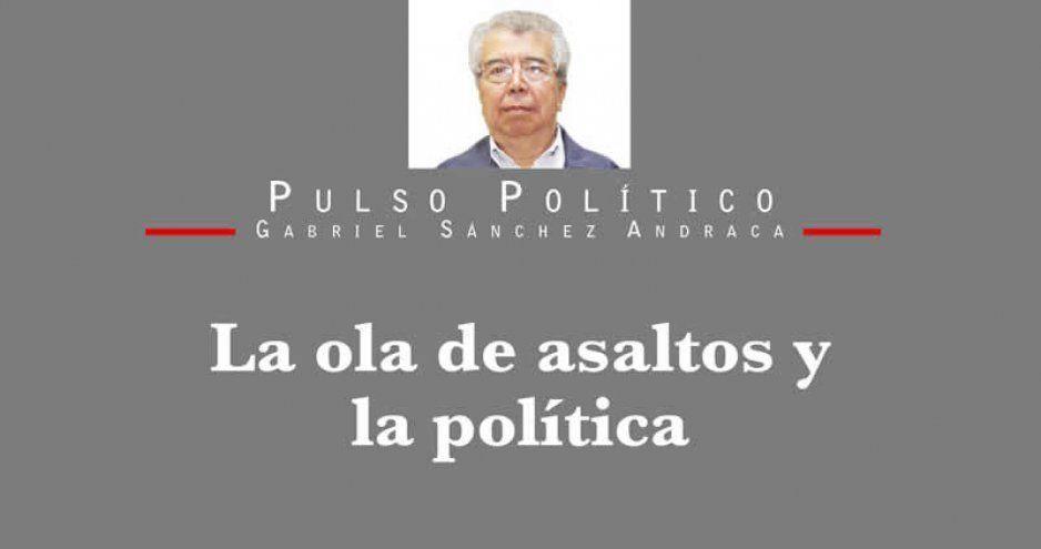 La ola de asaltos y la política