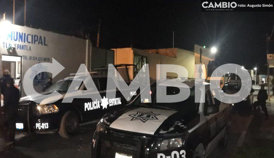 Comando armado agrede a policías en Tlanepantla, dejan más de 150 cartuchos percutidos