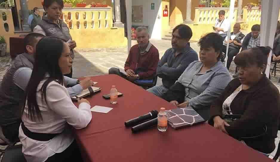 Bienestar atiende peticiones de poblanos y de la Asociación Poblana de la Industria de la Masa y la Tortilla