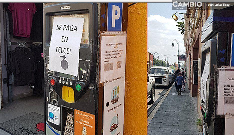 Miente Arriaga, pese a parquímetros descompuestos siguen cobrando estacionamiento