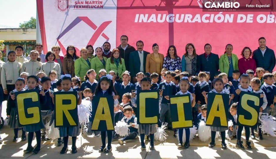 Gobierno municipal continúa trabajando por la educación de niños y jóvenes de Texmelucan