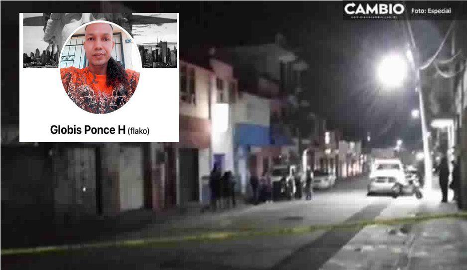 Identifican al hombre asesinado en un bar de Atlixco: le decían El Globis