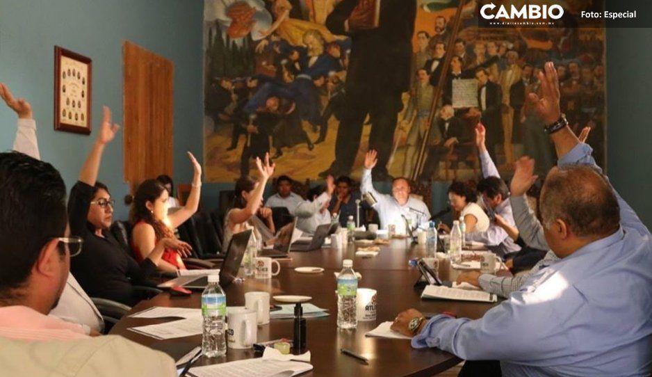 Cabildo aprueba cambios a estructura  del gobierno municipal de Atlixco