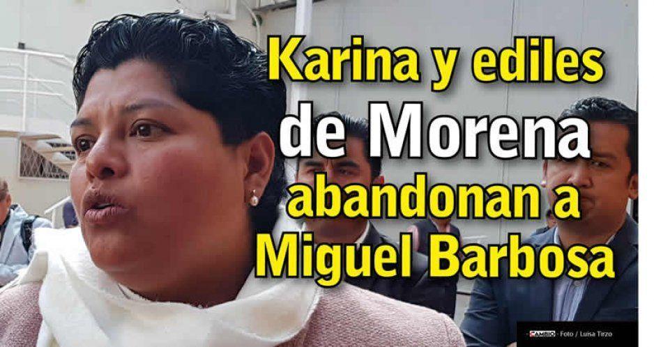 La Asociación de Alcaldes de Morena le quita el respaldo