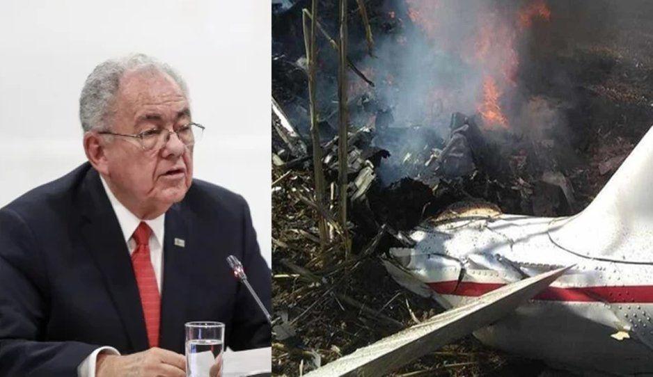 Sin concluir la investigación del helicopterazo, SCT asegura que no hay prueba de que fuera un atentado