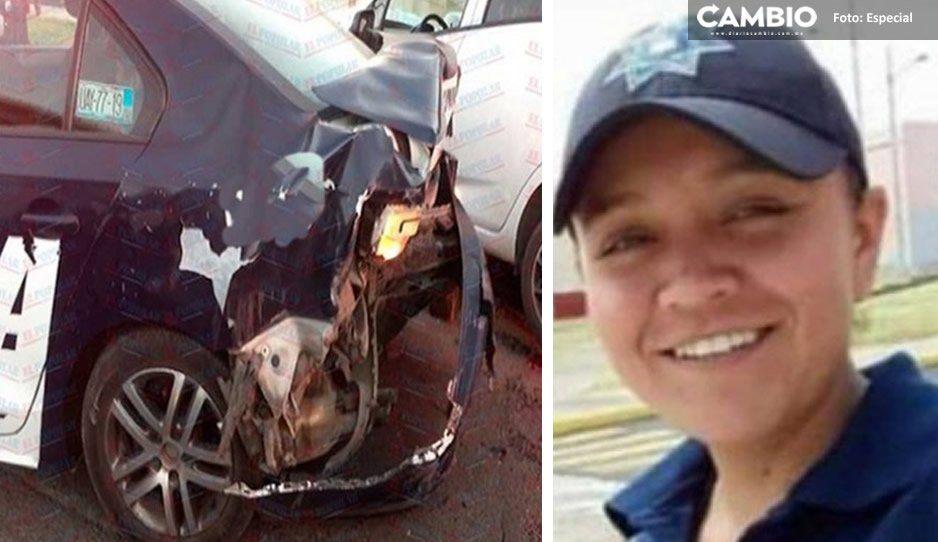 Trasladan al Cereso de San Miguel al conductor ebrio que atropelló y mató a la policía Yazmín Ortiz