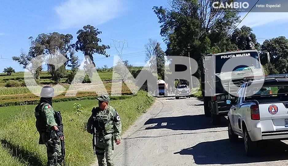 Localizan fuga de gas en El Verde, zona donde también fue asegurada una pipa