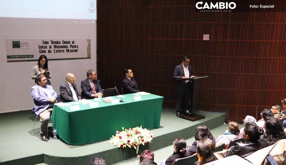 Promueven iniciativa para declarar a Izúcar de Matamoros 'Cuna del Ejército Mexicano'