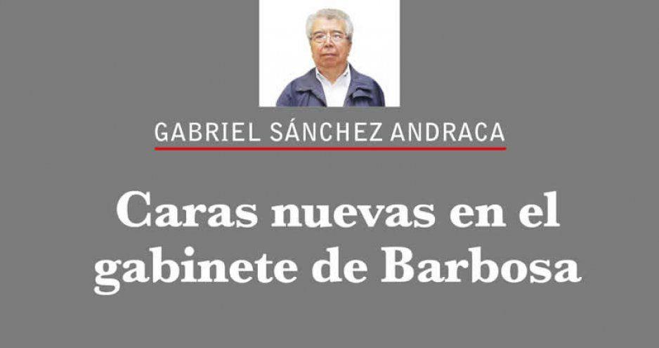 Caras nuevas en el gabinete de Barbosa