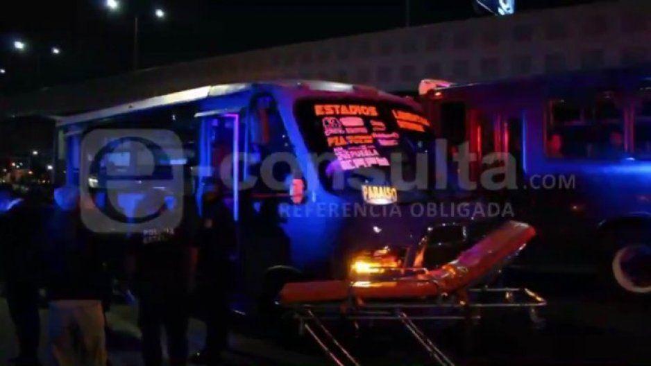Balean a pasajero durante asalto a ruta de los Morados en Los Fuertes (VIDEO)