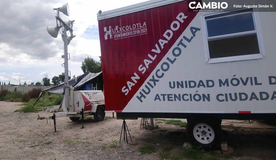 Fracasa programa de módulos de seguridad  en Huixcolotla; malgastan recursos públicos