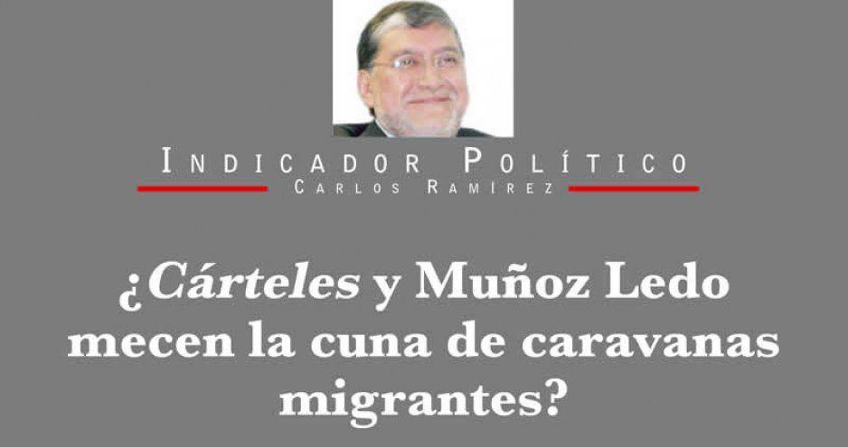 ¿Cárteles y Muñoz Ledo mecen la cuna de caravanas migrantes?