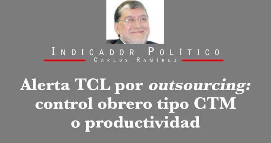 Alerta TCL por outsourcing: control obrero tipo CTM o productividad