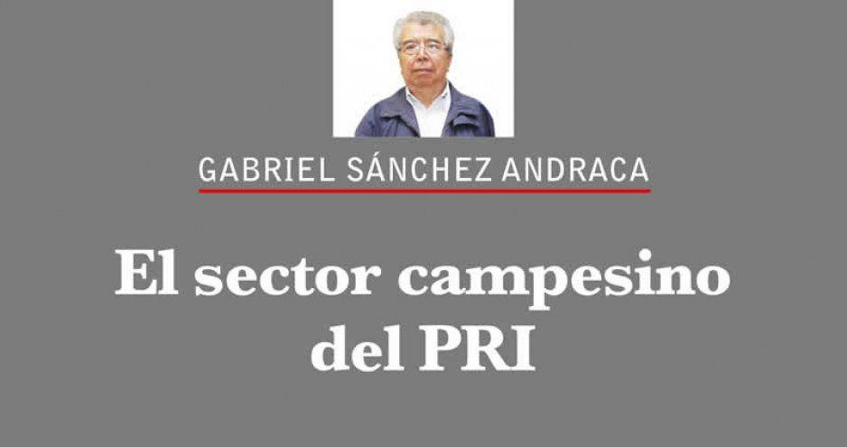 El sector campesino del PRI
