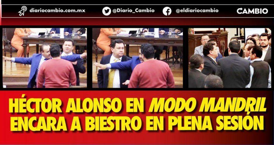 Alonso en modo mandril reta a golpes a Biestro (VIDEOS)