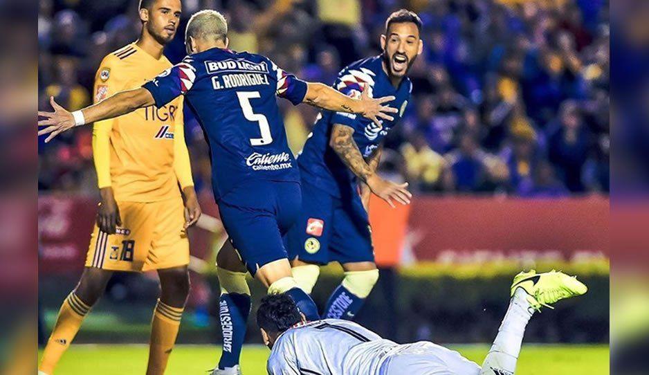 América logra la hazaña, elimina a Tigres y se convierte en el último semifinalista