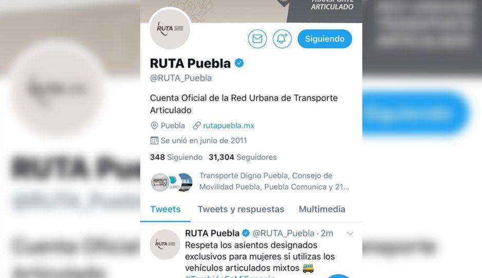 Tras cinco días de ausencia reactivan las redes sociales del RUTA