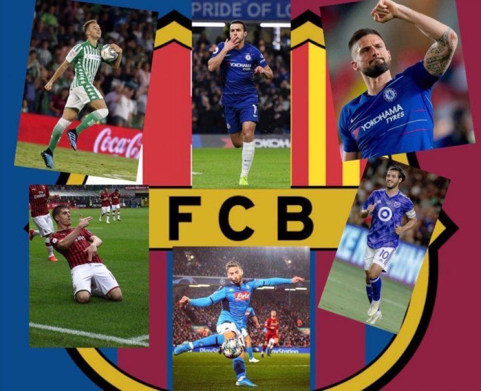 Barcelona no echará mano de La Masía ¿O sí?… Buscan delantero, bueno bonito y barato; aquí la baraja de Bartomeu