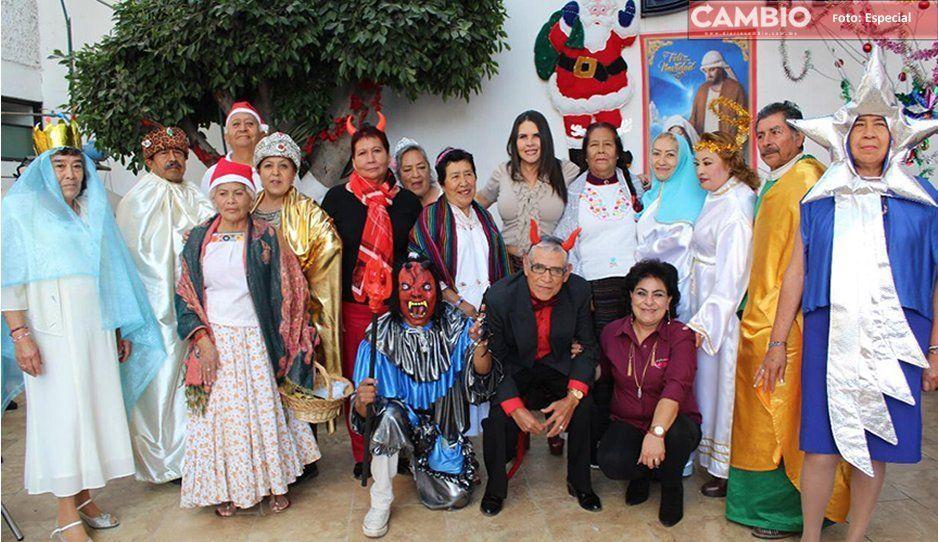 DIF Texmelucan lleva a cabo festividades decembrinas en la estancia de día Eterno Amanecer