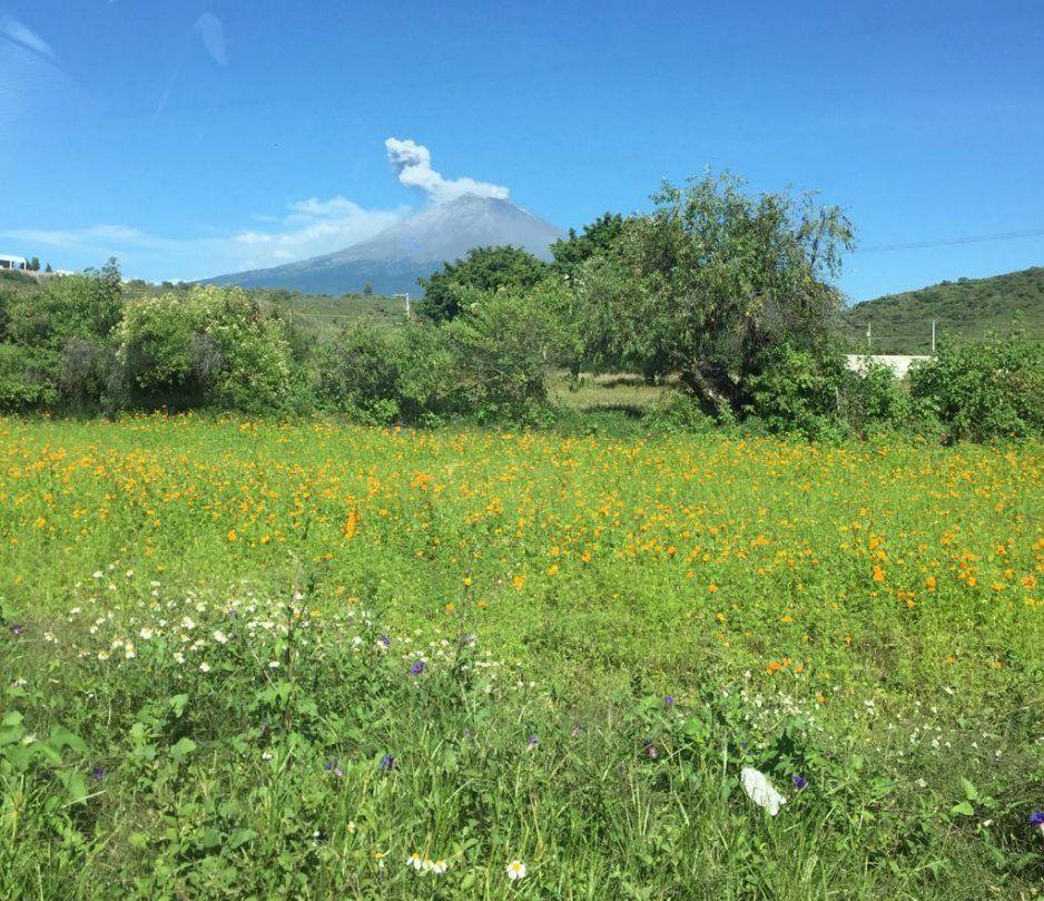 Piden construyan ruta de evacuación ante la actividad volcánica en Tochimilco