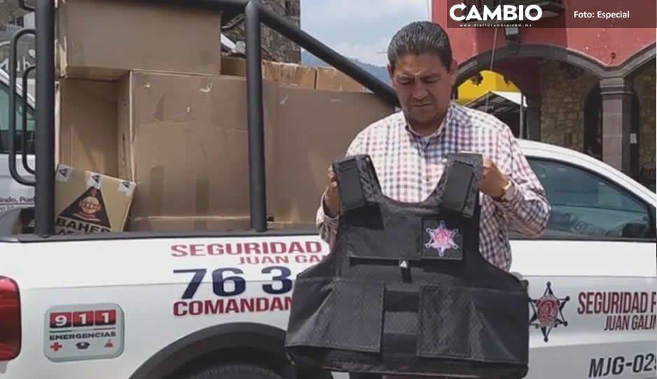 Edil de Juan Galindo minimiza inseguridad pese a levantones