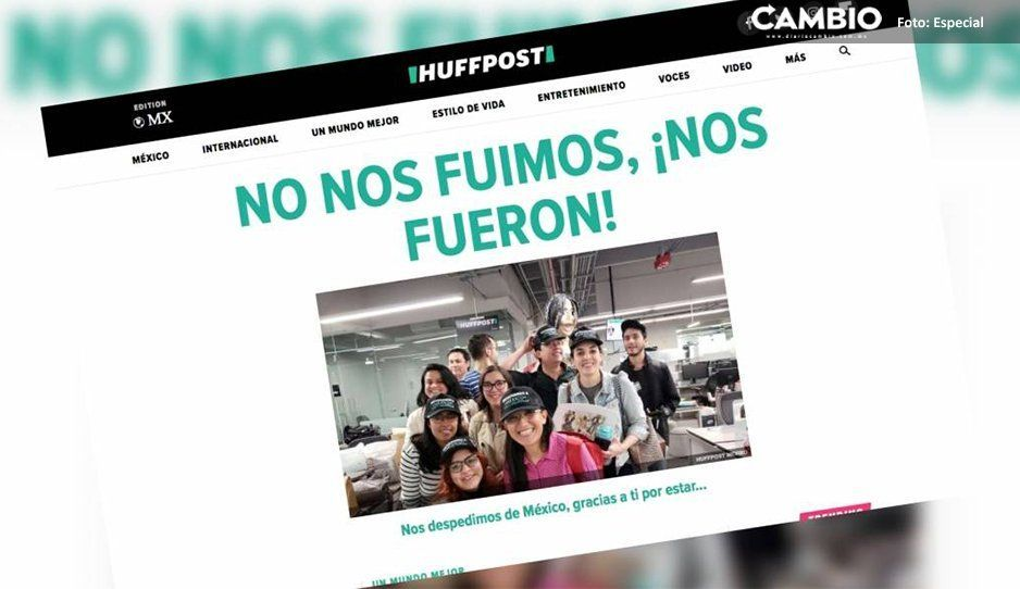 Despido masivo en HuffPost México; staff culpa a Grupo Imagen