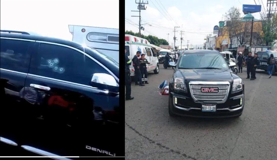 ¡Sin temor a Dios! En pleno tráfico ejecutan a copiloto de camioneta de lujo en Los Reyes (VIDEO)