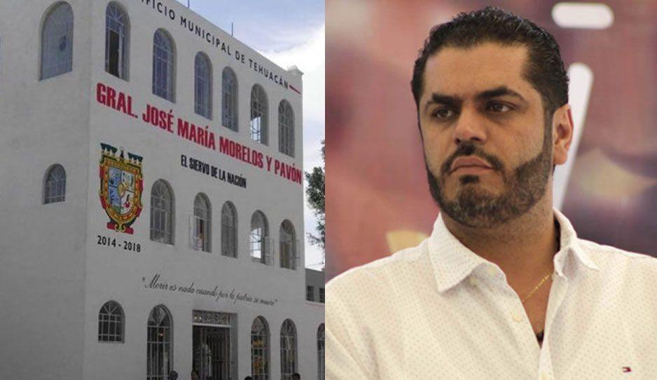 Ayuntamiento de Tehuacán no ha sido notificado de la situación legal de Patjane tras ser detenido