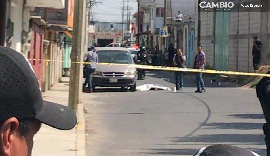 Pánico en Texmelucan por nueva balacera que deja un muerto y un herido