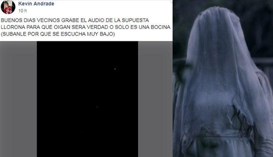 Vecinos reportan a La Llorona en la Libertad y exhiben VIDEO