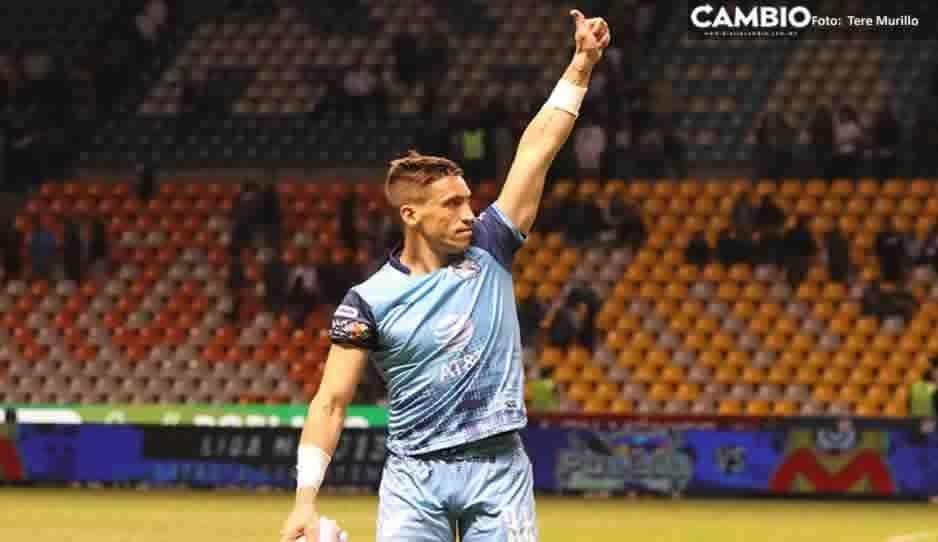Club Puebla desmiente la salida de Vikonis: No se irá a Pumas, La Franja ya le renovó contrato