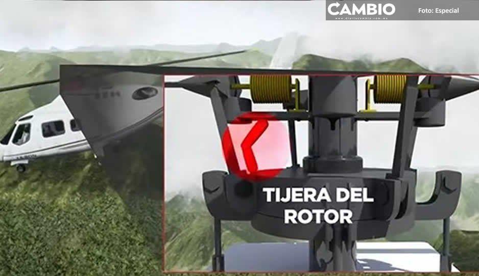 SCT desmiente versión de helicopterazo de TV Azteca: no es verídica ni oficial