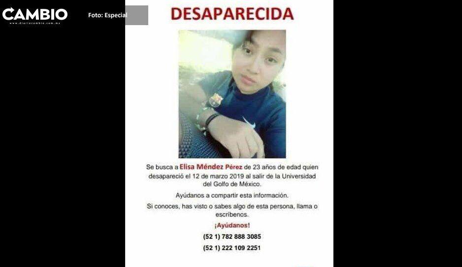 Desaparece estudiante de la Universidad del Golfo de México
