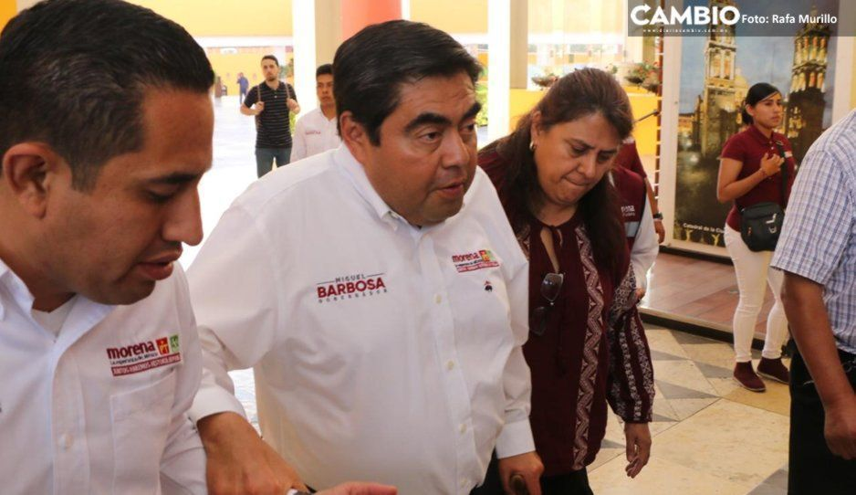 A la chingada el sí señor gobernador: Barbosa promete será amigo de la gente