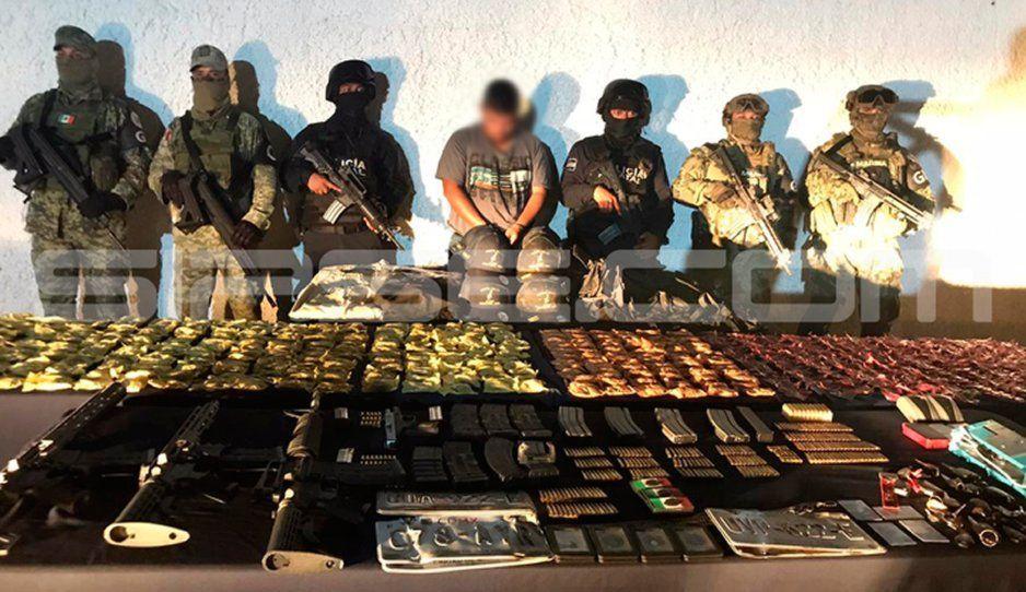 Armado como talibán, así detuvieron a sanguinario miembro del CJNG (FOTOS)