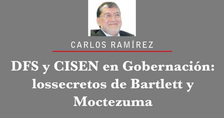 DFS y CISEN en Gobernación: los secretos de Bartlett y Moctezuma