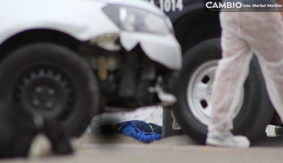 Rateros acribillan a gasero en  San Francisco Totimehuacán
