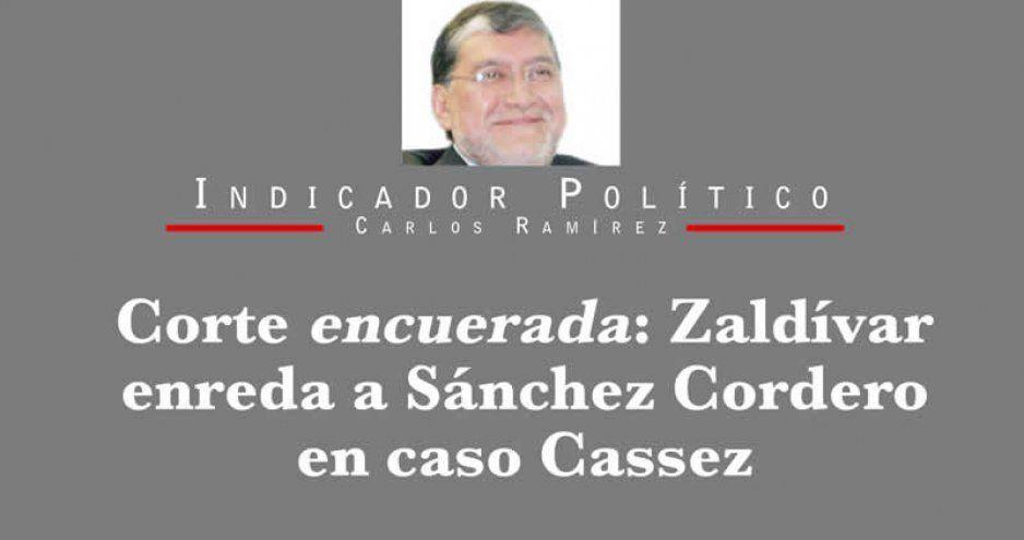 Corte encuerada: Zaldívar enreda a Sánchez Cordero en caso Cassez