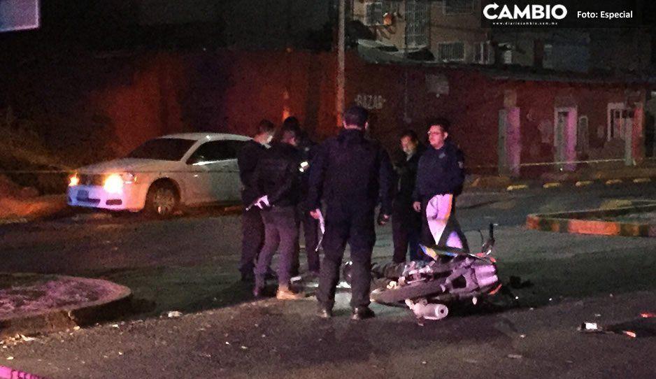 Autoridades de Atlixco investigan muerte de presunto ladrón en choque con patrulla