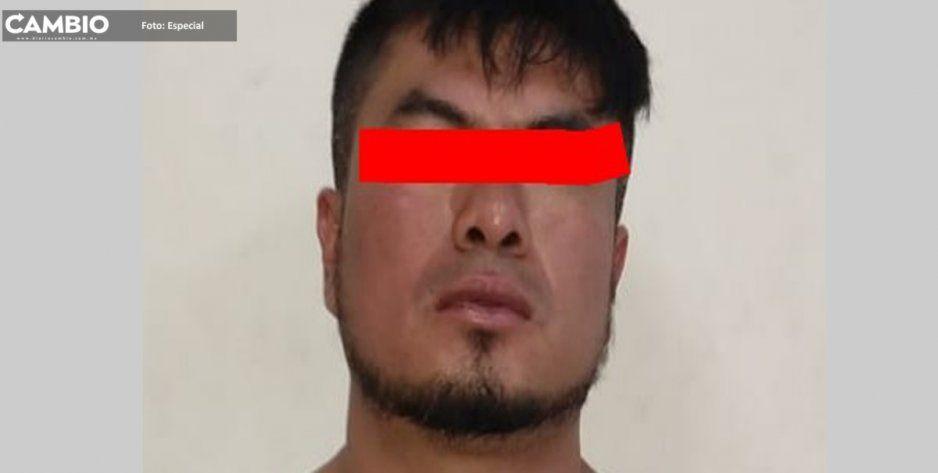 Detienen al Coreano en Amozoc, peligroso ladrón de autos