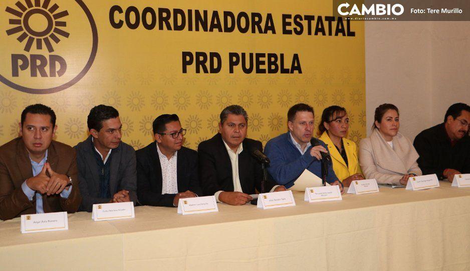 PRD abre la puerta a ir en alianza, designará candidato el 3 de marzo