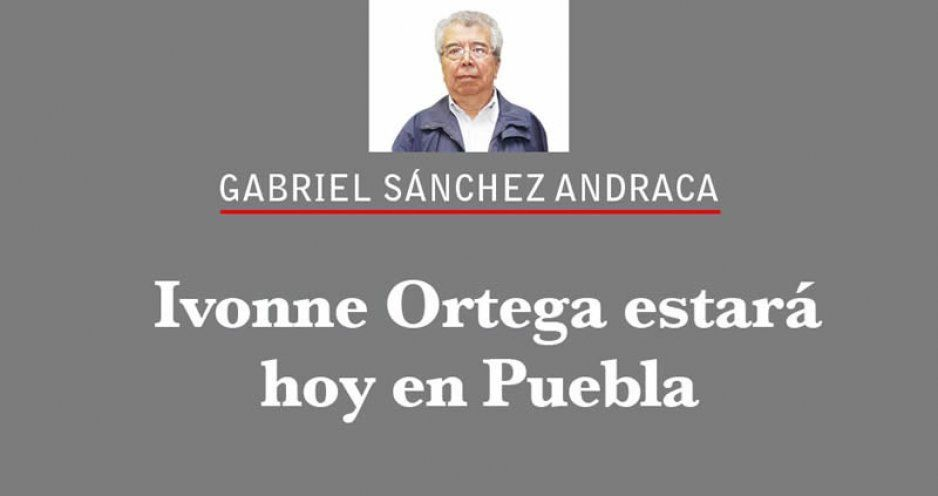 Ivonne Ortega estará hoy en Puebla