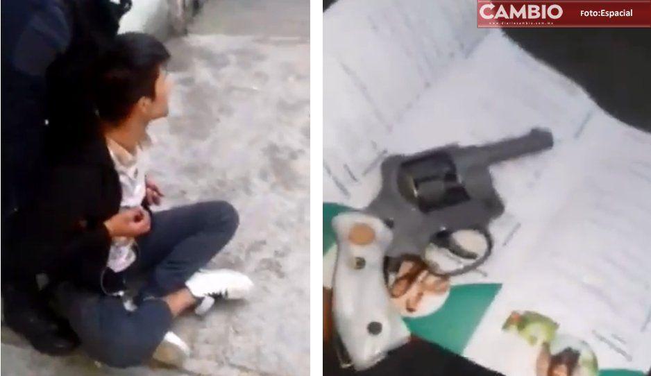 VIDEO: Iba a asaltar un Oxxo y casi lo linchan en la colonia Benito Juárez
