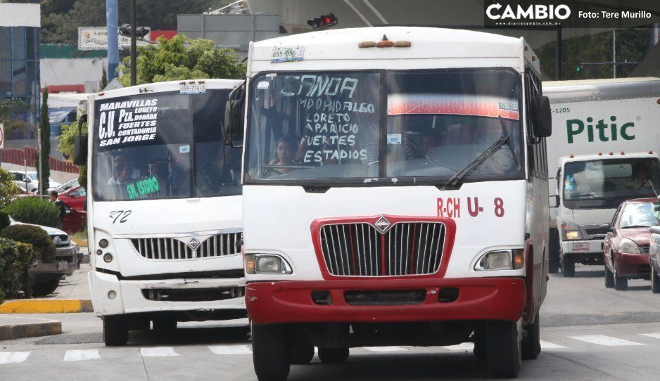 Ni con manifestaciones cancelarán tarifazo del pasaje, advierte gobierno estatal